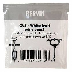 Винные дрожжи Gervin White Fruit Wine GV5
