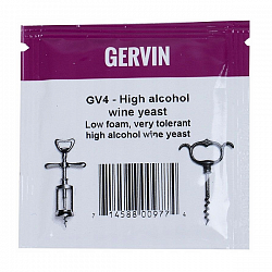 Винные дрожжи Gervin High Alcohol Wine GV4